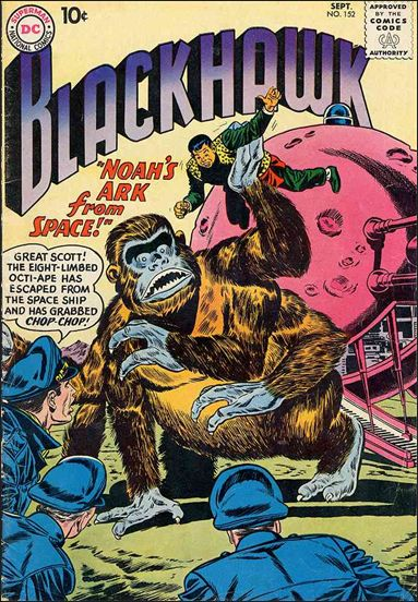 Blackhawk (1944) 152-A by DC