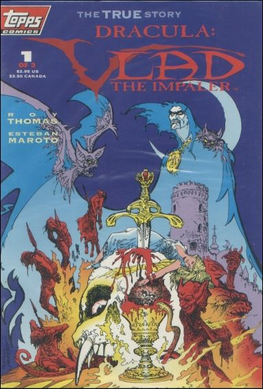 Dracula: Vlad the Impaler 1-C by Topps