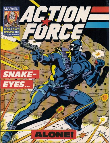 Action Force Special 1-A by Marvel UK