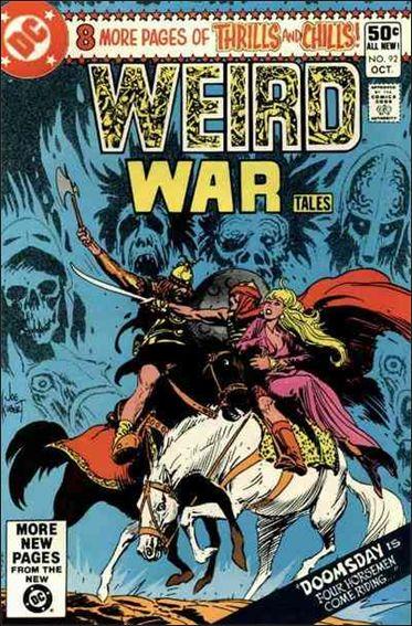 Weird War Tales (1971) 92-A by DC