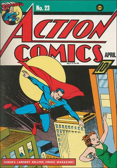 Action Comics (1938) 23-A by DC