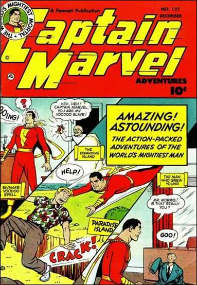 Captain Marvel Adventures 127-A by Fawcett