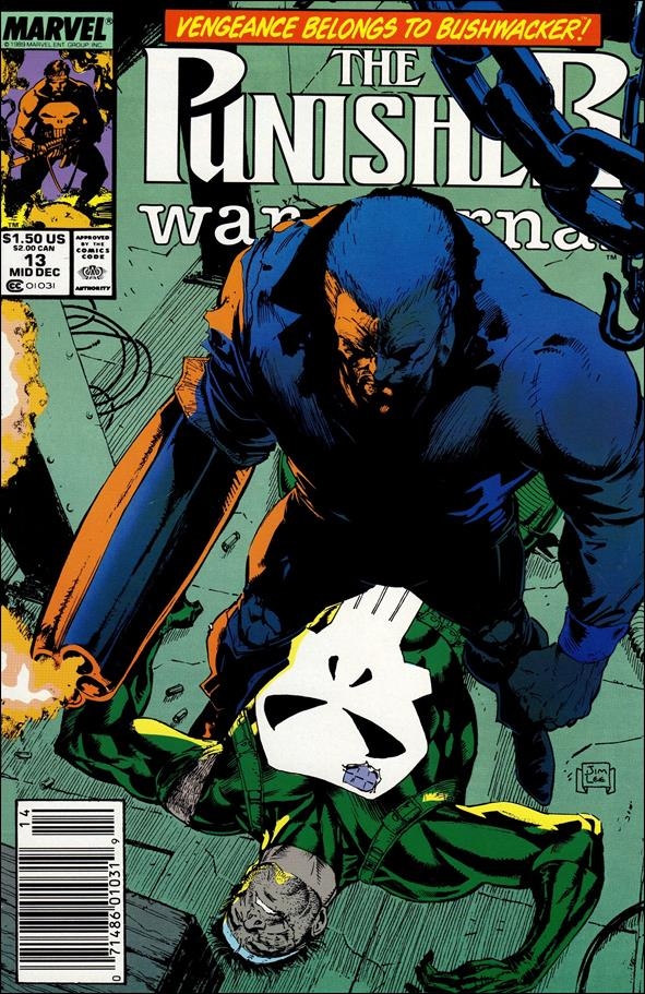 Punisher War Journal (1988) 13-A by Marvel
