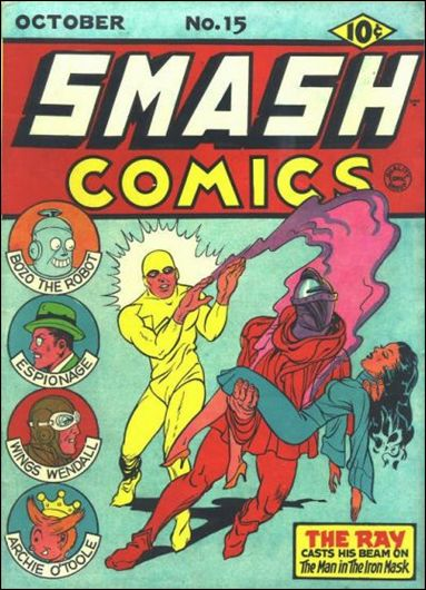 Smash Comics (1939) 15-A by Quality