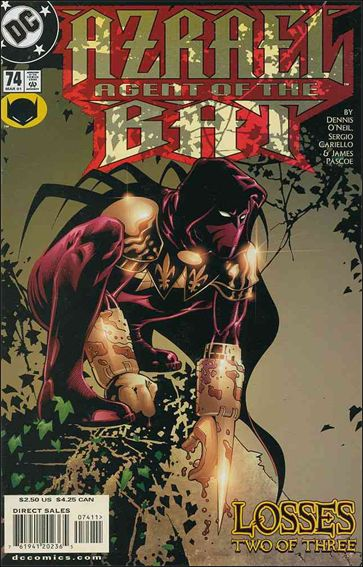 Azrael (1995) 74-A by DC