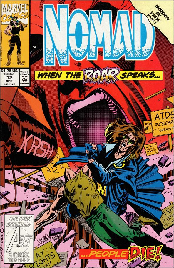 Nomad (1992) 12-A by Marvel