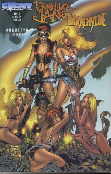 Painkiller Jane/Darkchylde 1-C by Event Comics