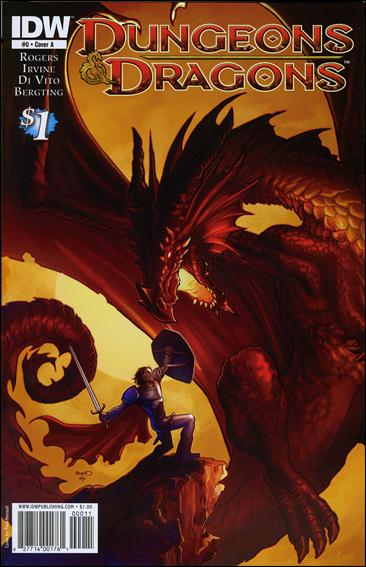 Dungeons & Dragons (2010) 0-A by IDW