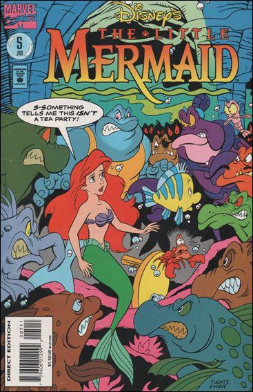 disney s the little mermaid 5 a jan 1995 comic book by marvel