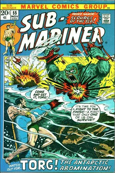 Sub-Mariner (1968) 55-A by Marvel