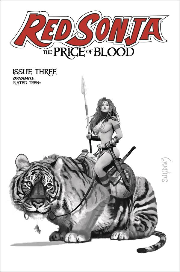 Red Sonja: Price of Blood 3-G by Dynamite Entertainment
