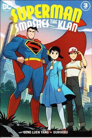Superman Smashes the Klan 3-A