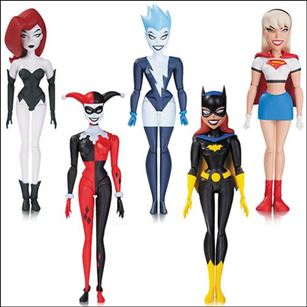 Batman Animated Girl's Night Out 5-Pack (NBA) (Loose)
