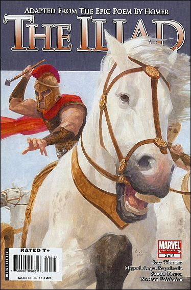 Marvel Illustrated: The Iliad 3-A by Marvel