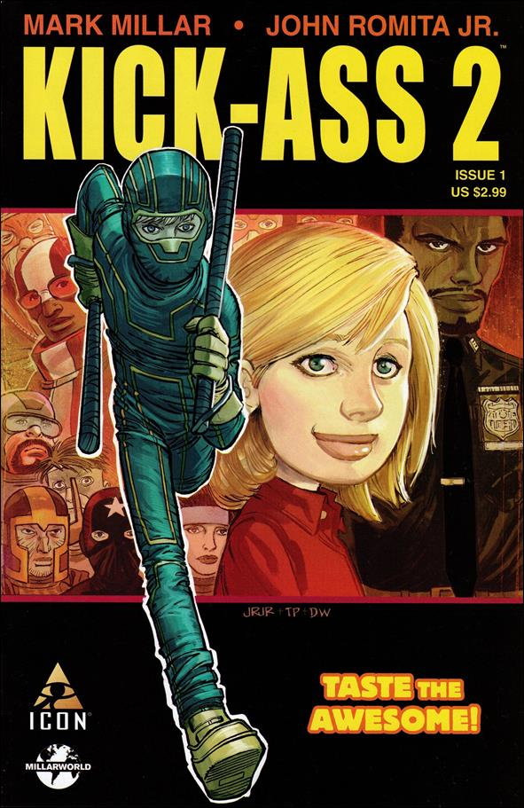 Kick-Ass 2 1-A by Icon