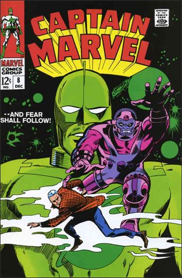 Captain Marvel (1968) 8-A by Marvel