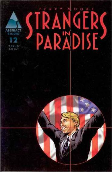 Terry Moore's Strangers in Paradise 12-A by Abstract Studio