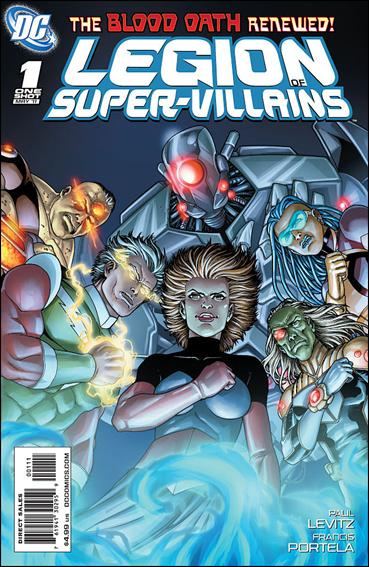 Legion of Super-Villains 1-A by DC