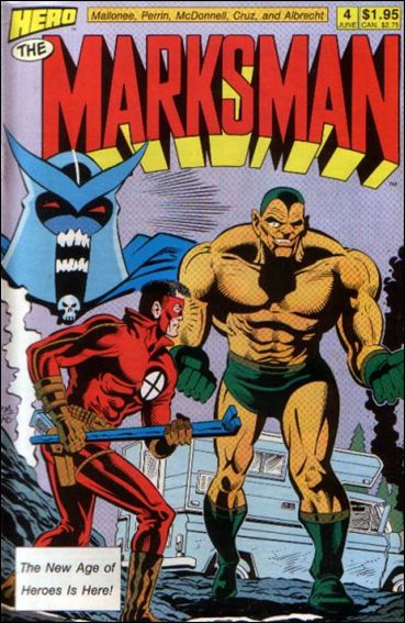 Marksman (1988) 4-A by Hero Comics