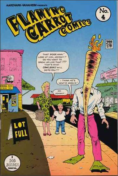 Flaming Carrot Comics (1984) 4-A by Dark Horse
