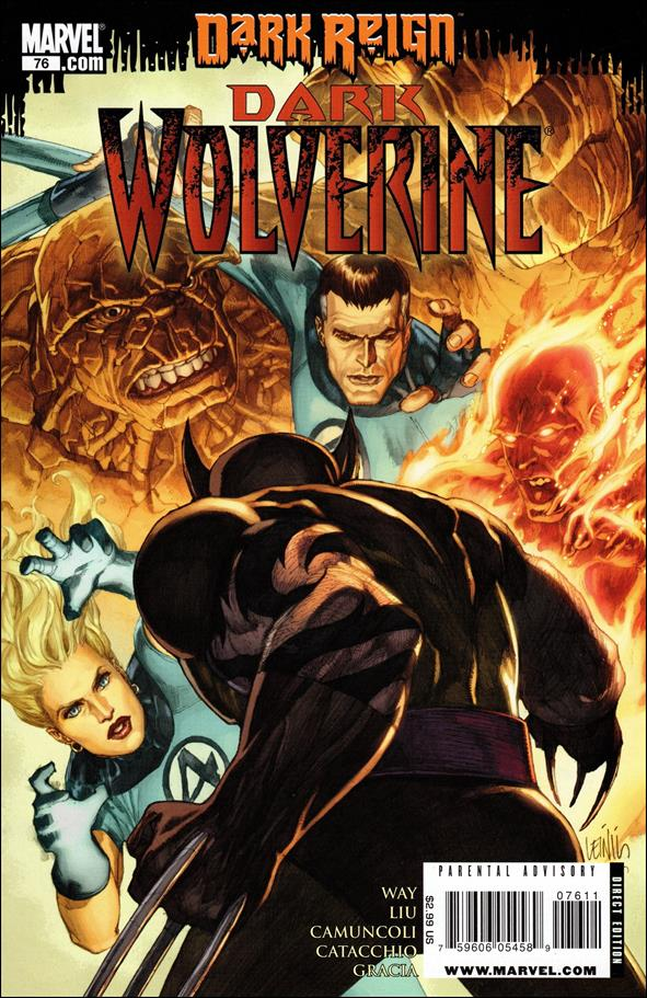 Dark Wolverine 76-A by Marvel