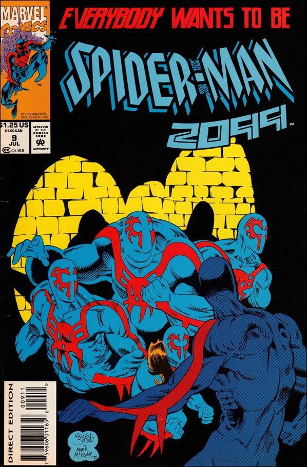 Spider-Man 2099 (1992) 9-A by Marvel