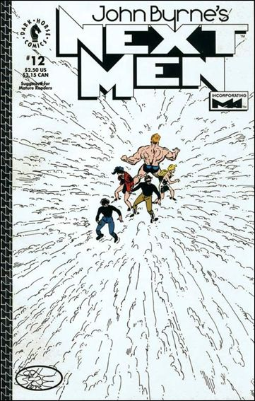 John Byrne's Next Men (1992) 12-A by Dark Horse