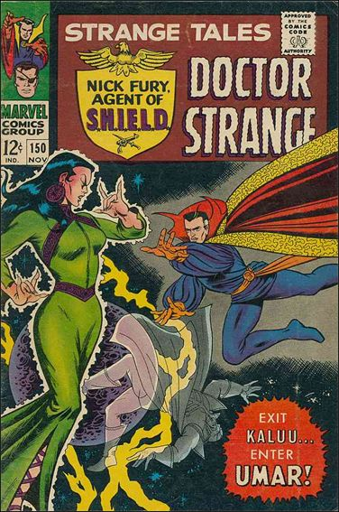 Strange Tales (1951) 150-A by Marvel