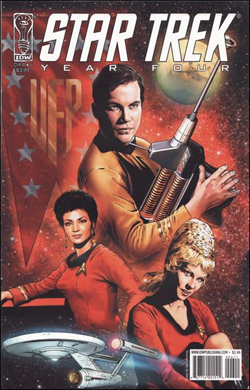 Star Trek: Year Four 6-A by IDW