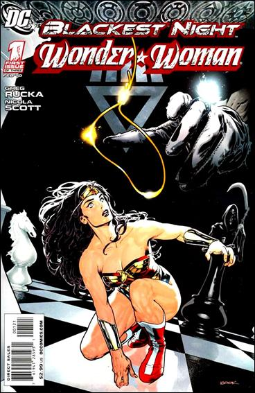 Blackest Night: Wonder Woman 1-B by DC