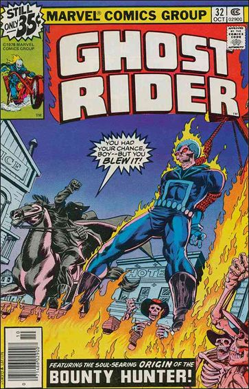 Ghost Rider (1973) 32-A by Marvel