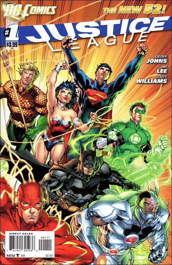 Justice League (2011) 1-A by DC