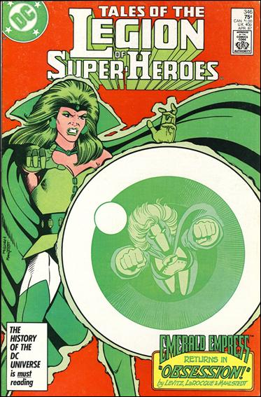 Tales of the Legion of Super-Heroes 346-A by DC
