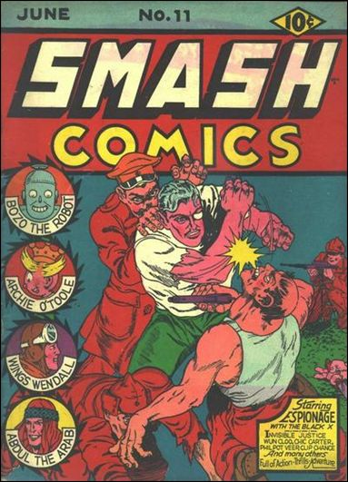 Smash Comics (1939) 11-A by Quality