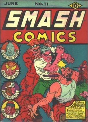 Smash Comics (1939) 11-A