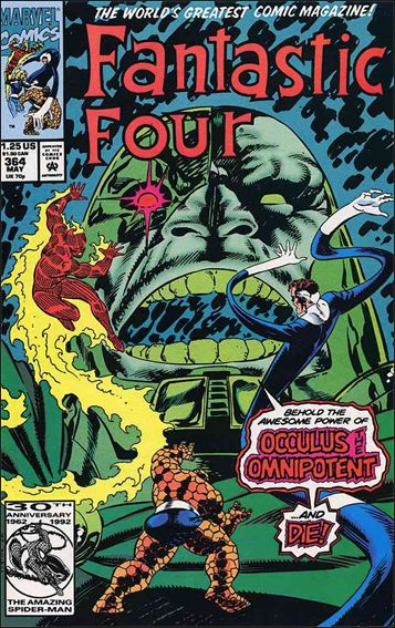 Fantastic Four (1961) 364-A by Marvel