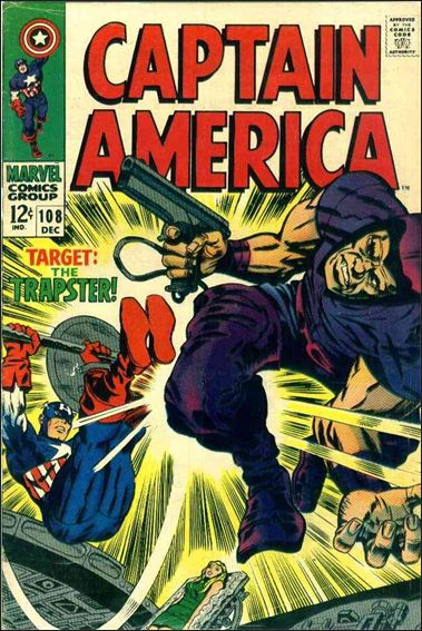 Captain America (1968) 108-A by Marvel