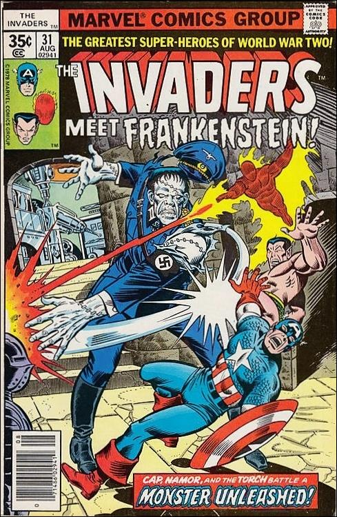 Invaders (1975) 31-A by Marvel