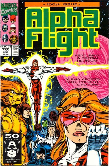 Alpha Flight (1983) 100-A by Marvel