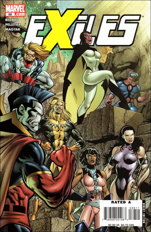 Exiles (2001) 88-A by Marvel