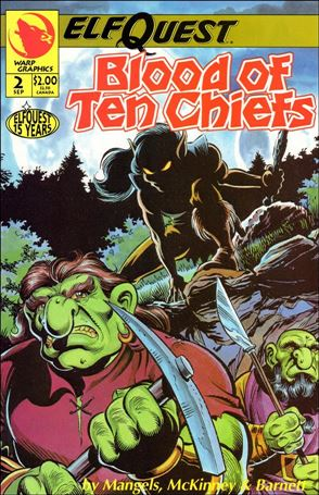 Elfquest: Blood of Ten Chiefs 2-A
