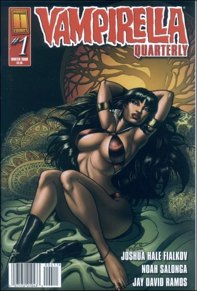 Vampirella Quarterly 1.3-B by Harris