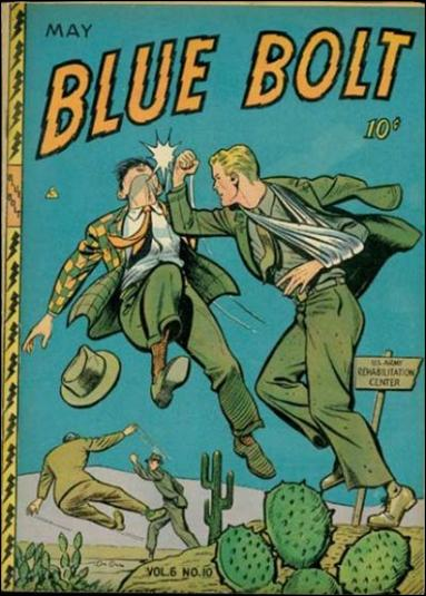 Blue Bolt (1945) 10-A by Novelty Press