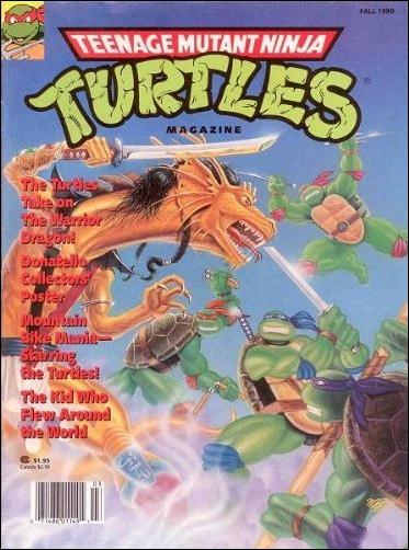 Teenage Mutant Ninja Turtles Magazine 2-A by Welsh Publishing Group