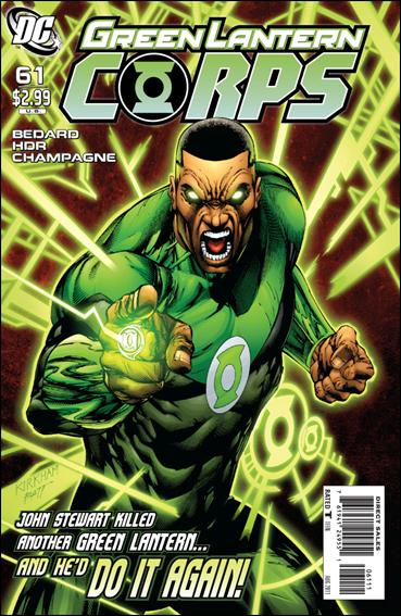 Green Lantern Corps (2006) 61-A by DC