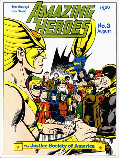 Amazing Heroes 3-A by Fantagraphics