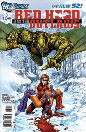 Red Hood and the Outlaws (2011) 5-A