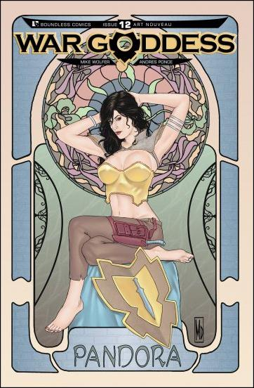 War Goddess 12-D by Boundless Comics