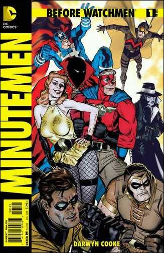 Before Watchmen: Minutemen 1-D by DC