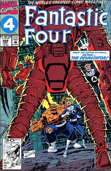 Fantastic Four (1961) 359-A by Marvel